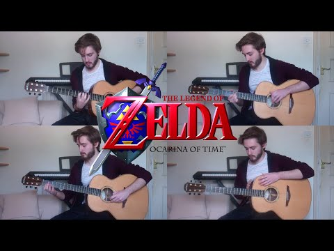 Zelda - Gerudo Valley played on 4 acoustic guitars.