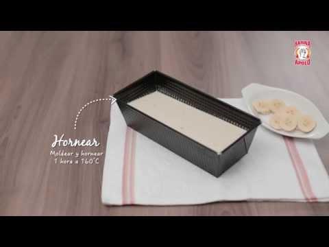 Video - Receta: Torta de banano con Harina Apolo