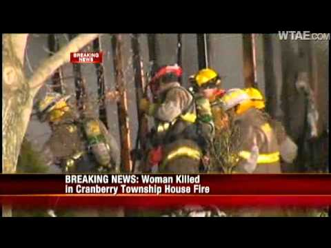 One Dead In Overnight House Fire In Cranberry Township