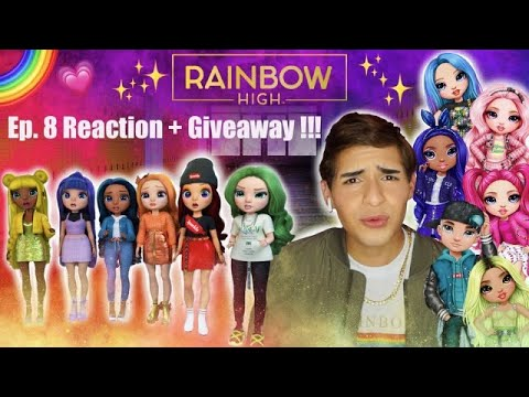 Rainbow High Episode: 8 Reaction + Giveaway Series 2!!! 🌈