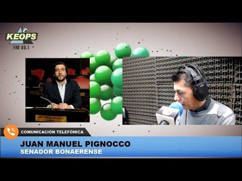 Senador Pignocco habló sobre el Presupuesto 2019 en la Provincia