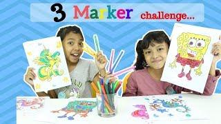 Video 3 MARKER CHALLENGE ♥ SpongeBob My Little Pony Edition MP3, 3GP, MP4, WEBM, AVI, FLV Juni 2018