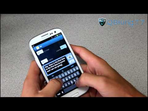 Video of Jelly Bean 4.2 Keyboard