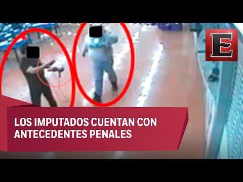Capturan a dos sujetos que asaltaron el Walmart de Tlalpan