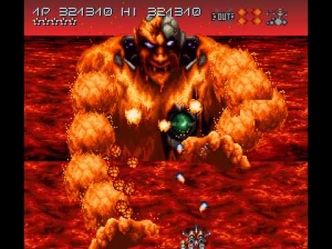 test axelay super nintendo