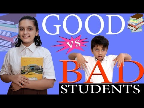 GOOD vs BAD STUDENTS in School Life Funny  Types of Students in Class room  Aayu and Pihu Show