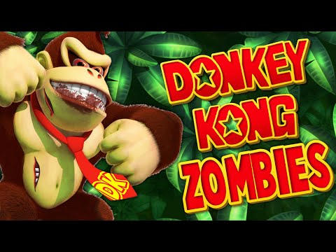DONKEY KONG ZOMBIES ★ Call of Duty Zombies Mod (Zombie Games)