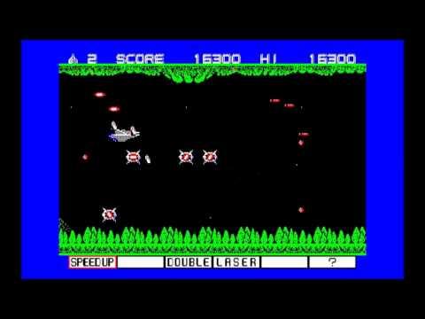 PC-88 グラディウス(KONAMI) RETRO PC GAME ステージ1