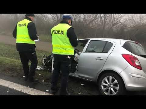 Wideo1: Wypadek na trasie Kłoda - Augustowo