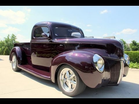 1940 Ford Pickup Street Rod Classic Muscle Car for Sale in MI Vanguard Motor Sales