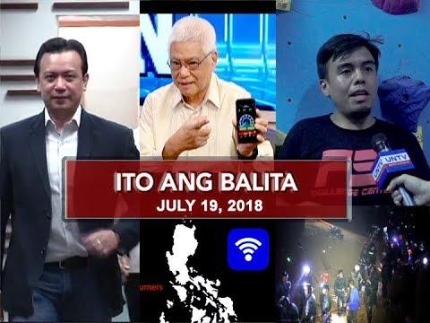 UNTV: Ito Ang Balita (July 19, 2018)