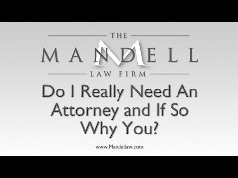 Do I Need A Personal Injury Lawyer? – San Fernando Valley Personal Injury Lawyers – Mandell Law