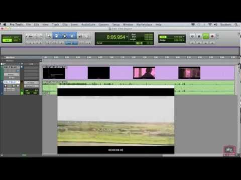 Pro Tools 10 Tutorial – Working with Film/Video Pt1 – Importing