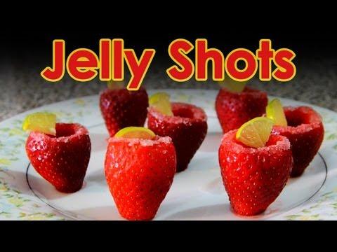 Jelly Shots con fruta. Bebidas MUY FACILES con vodka | Bebidas preparadas con alcohol