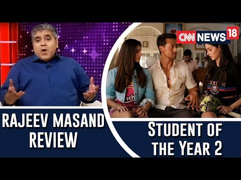 Student of the Year 2 film review by Rajeev Masand