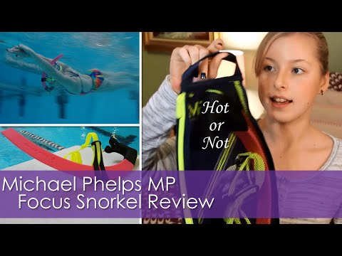 Michael Phelps MP FOCUS Snorkel Review | Hot or Not?