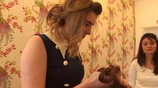 <h5>Sky&#039;s &#039;The Chrissy B Show&#039;</h5><p>Another TV appearance! This time our lovely Danielle  challenges Chrissy B to recreate a vintage style in less than 5 minutes flat</p>