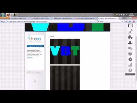 Professionelle HomePage Erstellen mit Jimdo[HD](Deutsch/German)
