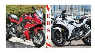 2. WOW,,Amazing!!! 2018 Honda CBR650F VS 2018 Suzuki GSX 250R