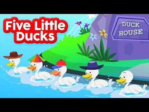 Fünf kleine Enten | Ente Reime | Kinderlied | Children Songs | Nursery Rhymes | Five Little Ducks