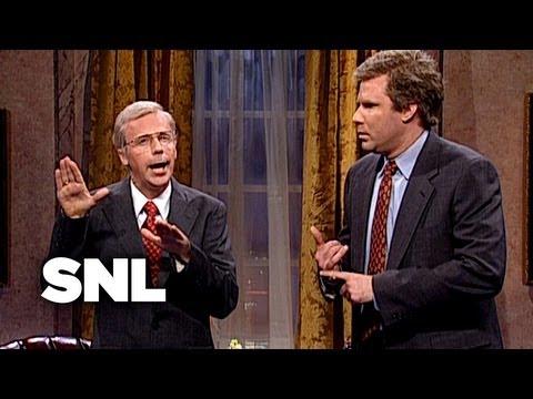 George H. W. Bush Gives Debate Advice to George W. Bush - SNL