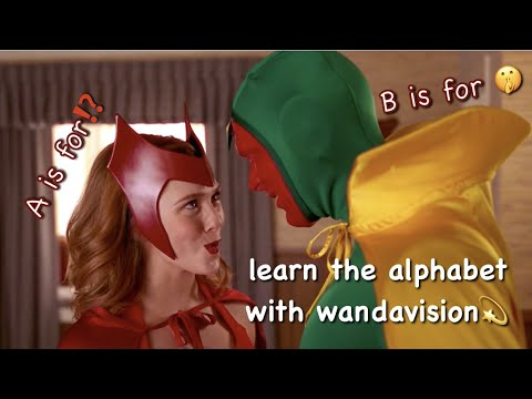 learn the alphabet with wandavision **spoilers**