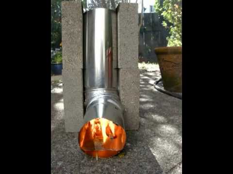 Rocket Stove for Urban Survival