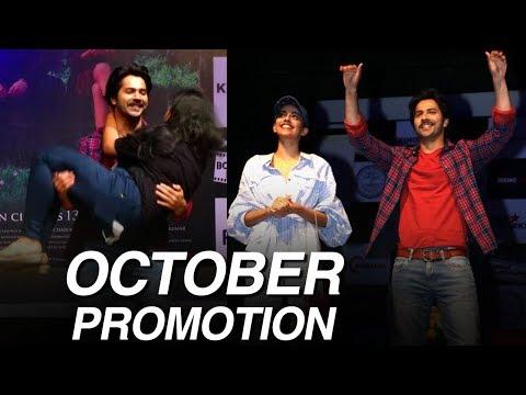 Varun Dhawan and Banita Sandhu Promote October at