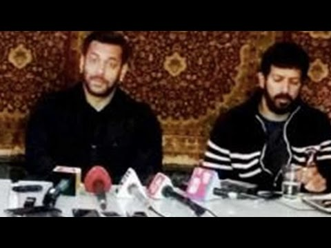 Salman Khan Gives Special Message From Kashmir For