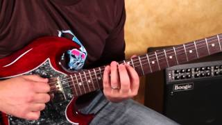 Guitar Solo Lessons  - Pentatonic Scale Concepts with 4ths