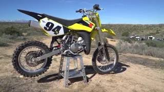 2. 2016 Suzuki RM85 Review - Dirt Rider 85cc MX Shootout
