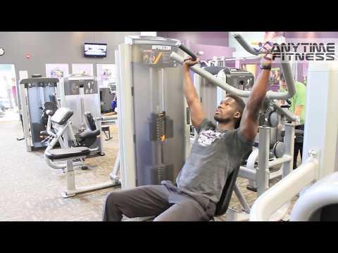 How to: Precor Multi-Press Machine [Bench Press   Shoulder Press] Anytime Fitness LKN