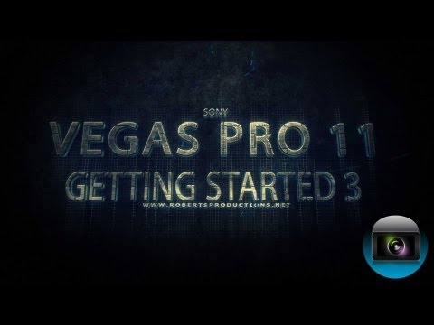 djbeto267 - In this third episode of the Vegas Pro 11 Getting Started series, We'll take a look at the Project Media Window. More features will be shown in the next epis...