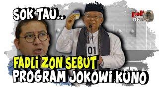Video Kurang Paham Teknologi Informasi, Fadli Zon Sebut Kuno Program Kartu Sakti Jokowi MP3, 3GP, MP4, WEBM, AVI, FLV Maret 2019