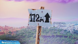 Fortnite - All Highest Elevations Locations Guide (Season 8 Challenge)