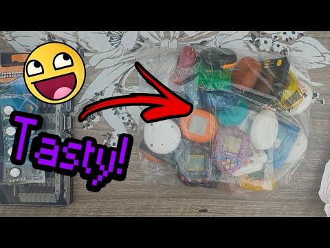 Unboxing Big Box Of Virtual Pet's/Tamagotchi's - Testing a Few Out