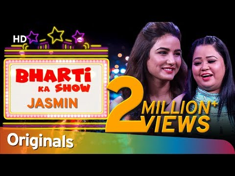 Jasmin Bhasin Reveals Funny Secret to Bharti - Nonstop Comedy - Bharti Ka Show - EP3 #ShemarooComedy