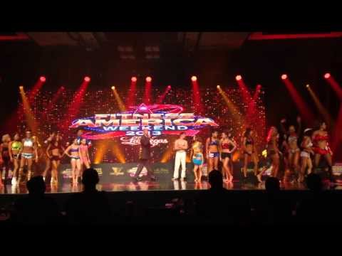 Anca Bucur Fitness America Opening Number 2013