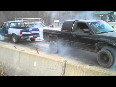 Chevy vs. Dodge tug of war battle