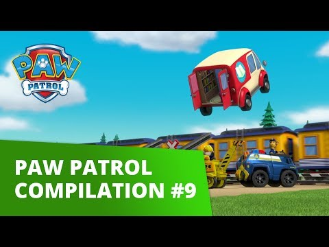 PAW Patrol | Pup Tales, Toy Episodes, and More! | Compilation #9 | PAW Patrol Official & Friends