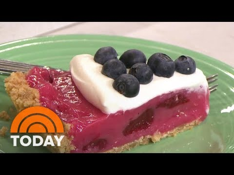 Make This No-Bake Red, White And Blueberry Pie | TODAY