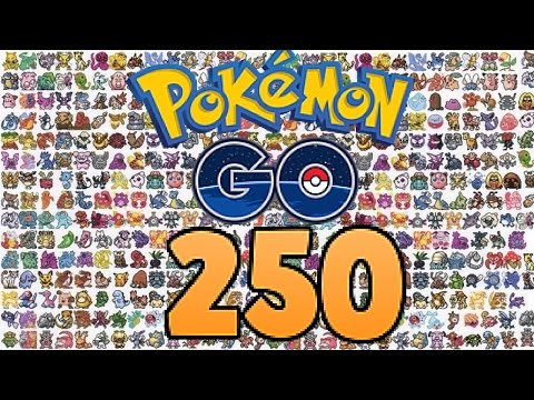 All 250 pokemon in Pokemon GO - Update - HD