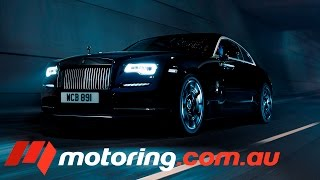Rolls-Royce Wraith Black Badge deep dive (Gangster Car) Video