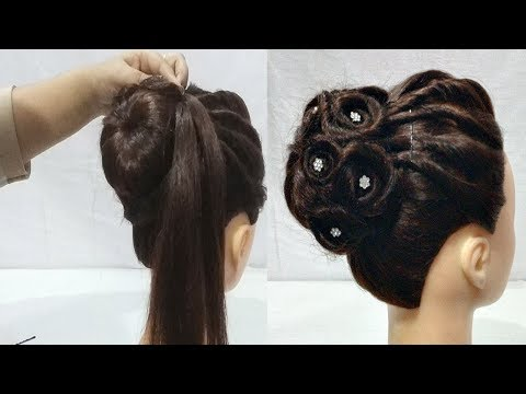 Easy hairstyles - Easy Wedding/Party Hairstyles  hair style girl  hairstyles for girls  cute hairstyles 2018