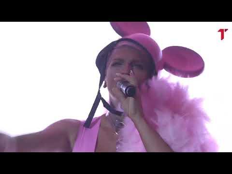 Karleuša kao seksi Mini Maus sa perjem izašla na binu