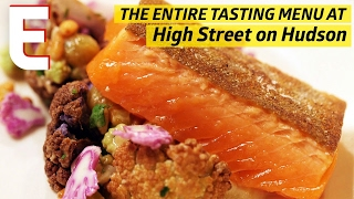 Dry Aged Steak Tartare, Arctic Char and the Tasting Menu at High Street on Hudson by Eater