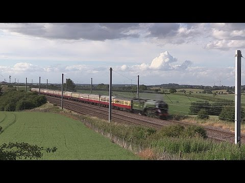 The White Rose with LNER 60163 Tornado 7th July 2015