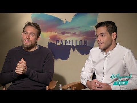 Charlie Hunnam And Rami Malek Share FUN On-Screen Moments | PAPILLON (2018)