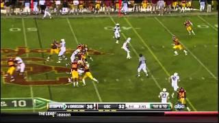 LaMichael James vs USC (2010)