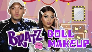Video BRATZ DOLL MAKEUP CHALLENGE VERSI AUREL AREK JEMBER | @rhaydavidmakeup MP3, 3GP, MP4, WEBM, AVI, FLV April 2019
